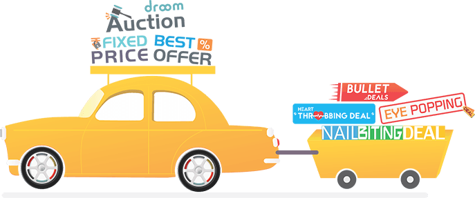 Droom Deals, Offers & Pricing Formats